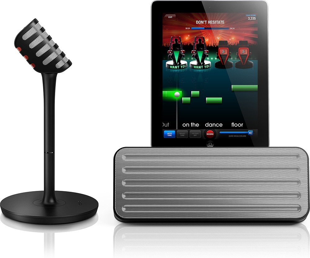 Philips Wireless Microphone and Bluetooth Speaker