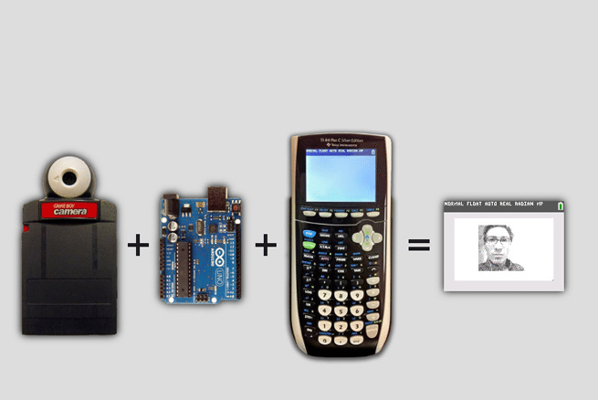 ArTICam: MOD Turns Your Graphing Calculator To A Selfie
