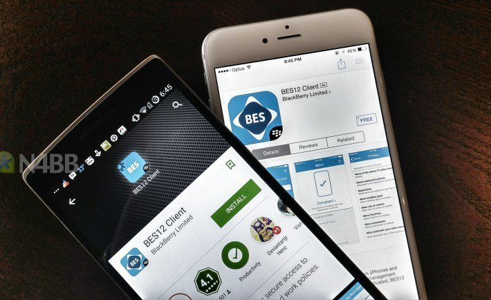 BES12 Apps