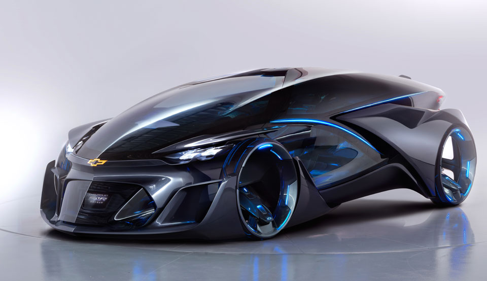 There Are No Earthly Words To Define The Chevrolet-FNR Concept Car ...