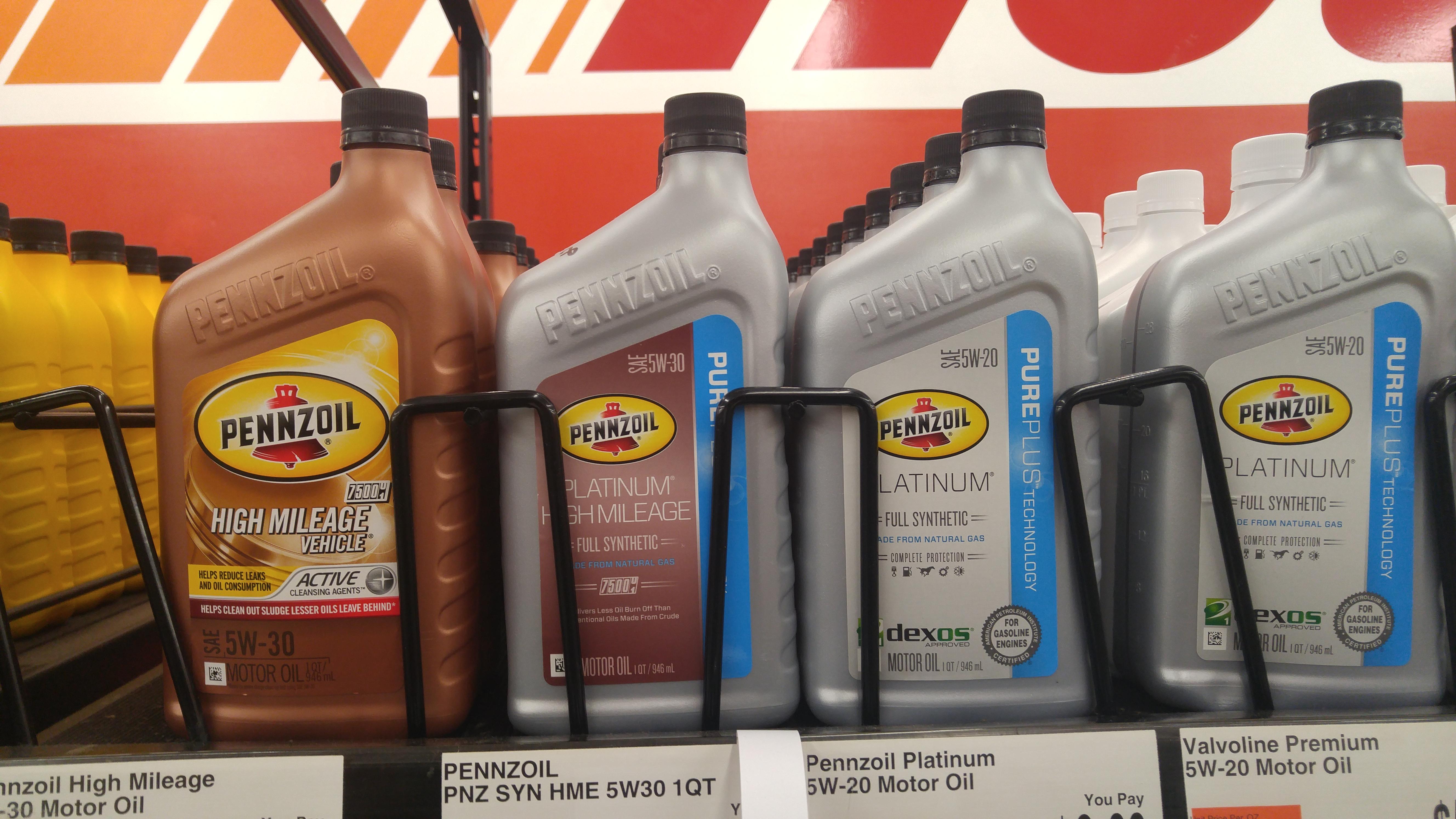 Diy oil change with pennzoil platinum full synthetic motor oil 20150922093820 solutioingenieria Gallery