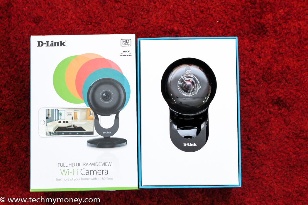 D-Link DCS-2630L 180 Degree Full HD Ultra-Wide View Review