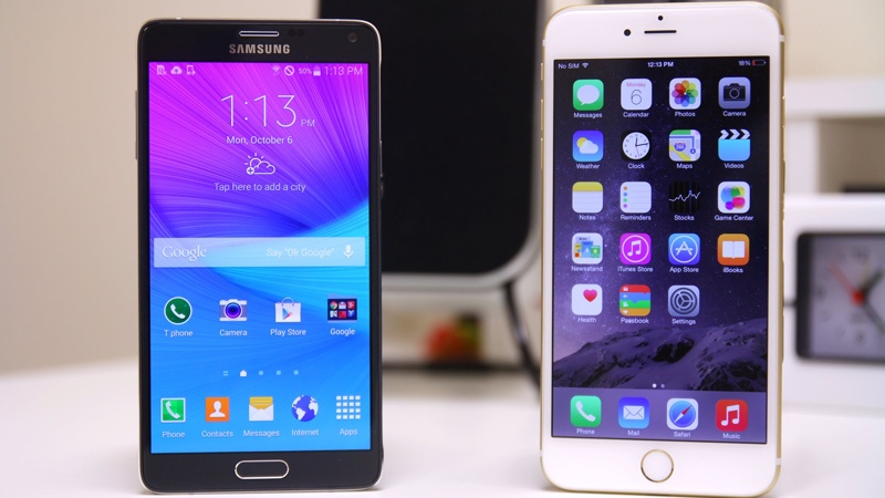 6 Reasons To Pick The Samsung Galaxy Note 5 Over The Apple iPhone 6s Plus b88f1fb90f2