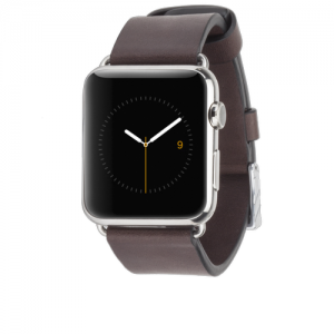 Signature Leather Band - Tobacco Apple Watch