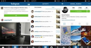 Instagram for Windows 10