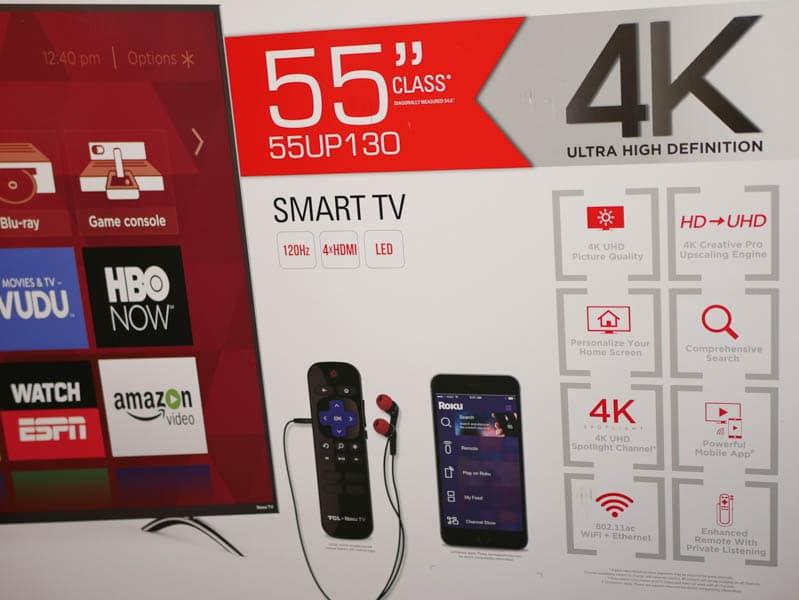 Tcl 55up130 4k Roku Smart Led Uhdtv Review Tech My Money