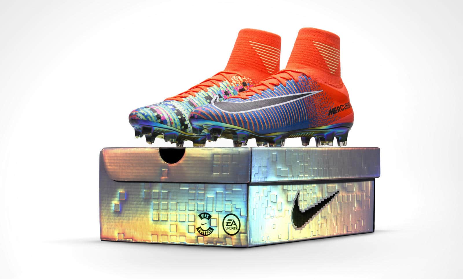 7090bd2b4 Nike and EA Mercurial Soccer Shoes Comes With A 16-Bit Design