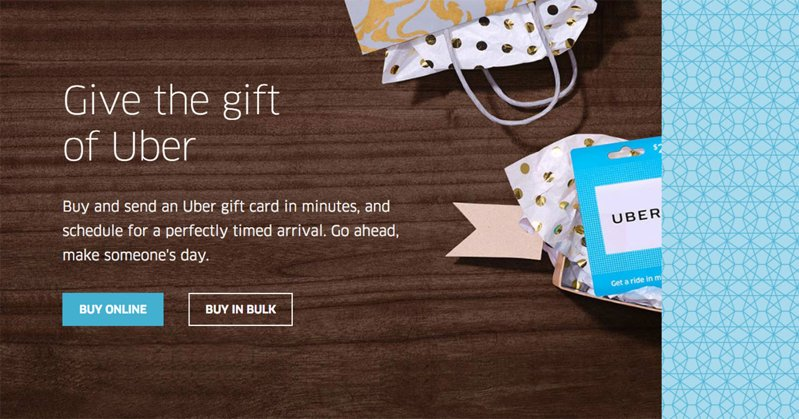 you can now buy uber gift cards online | tech my money